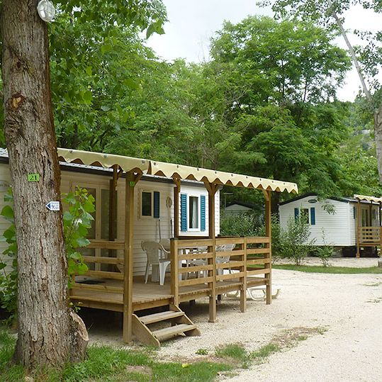 Campsite Les Foulons - The mobile homes