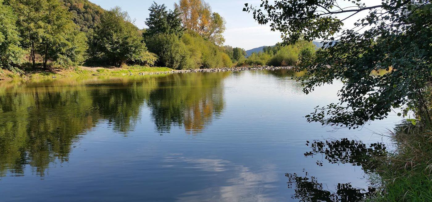 Camping Les Foulons - De rivier