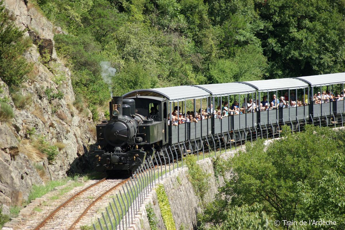 De Ardèche-trein